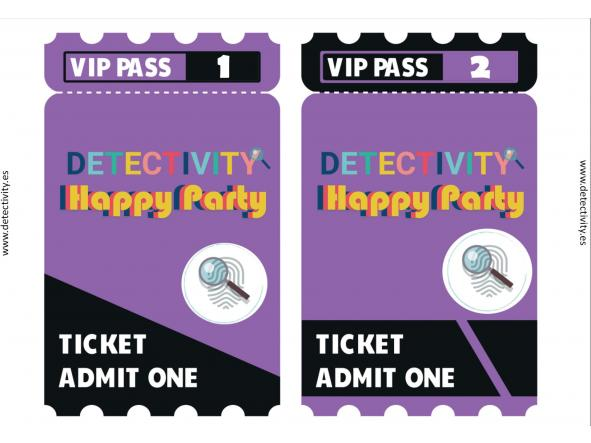 Detectivity Happy Party (ESP) [1]