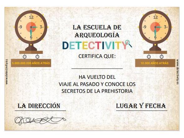 Juego de pistas Detectivity Prehistory (ESP) [1]
