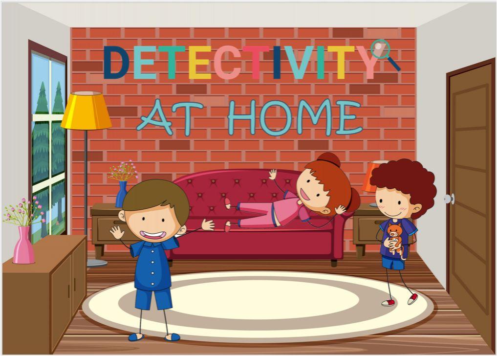 Juego de pistas Detectivity Home (ESP)