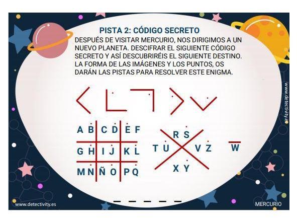 Juego de pistas Detectivity Solar System (ESP) [1]