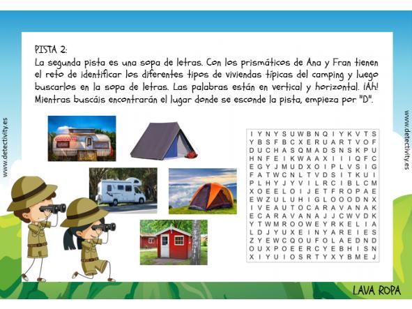 Detectivity Camping (ESP) [1]
