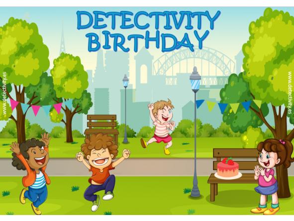 Juego de pistas Detectivity Aniversari al parc (CAT)