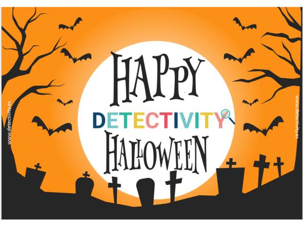 Joc de pistes Detectivity Happy Halloween (CAT)