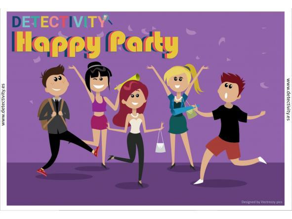 Detectivity Happy Party (CAT)