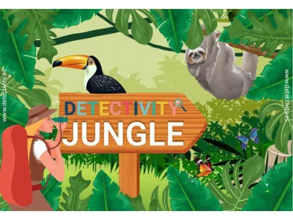 Juego de pistas Detectivity Jungle (ESP)