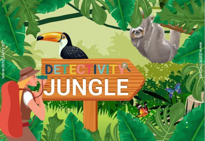 Juego de pistas Detectivity Jungle (CAT)