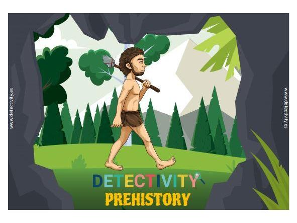 Juego de pistas Detectivity prehistory (CAT)
