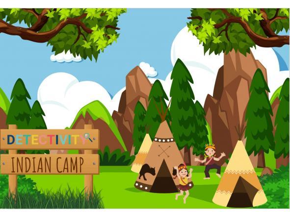 Juego de pistas Detectivity Indian Camp (ESP)