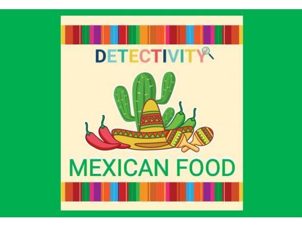 Juego de pistas Mexican Food (ESP)