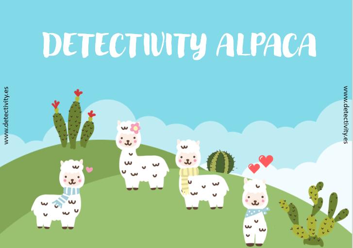 Juego de pistas Detectivity Alpaca (CAT)