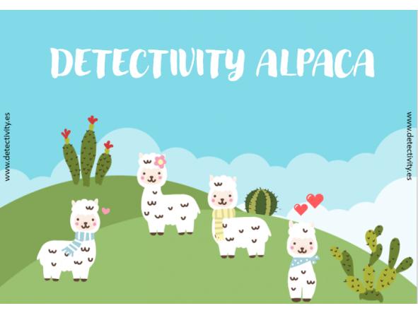 Juego de pistas Detectivity Alpaca (CAT) [0]