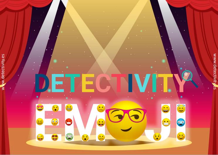 Juego de pistas Detectivity Emoji  (ESP)