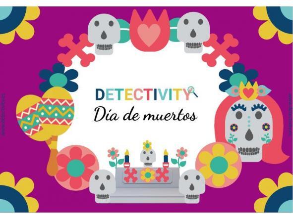 Juego de pistas Detectivity Día de Muertos (ESP)