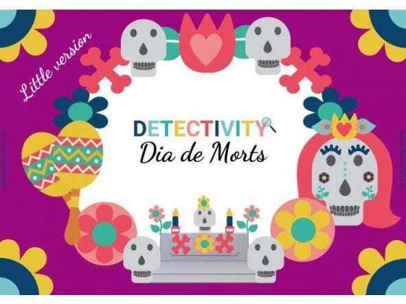 Joc de pistes Detectivity Dia de Morts versió little (CAT)