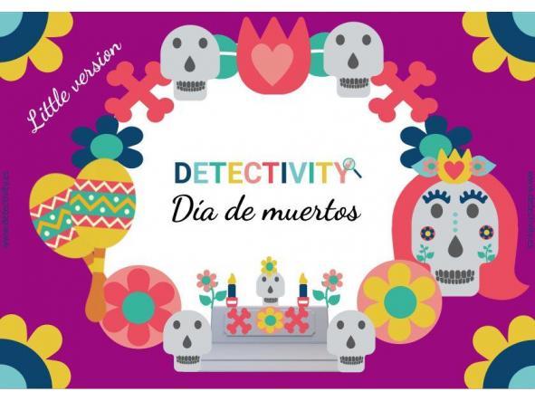 Juego de pistas Detectivity Día de Muertos versión little (ESP)