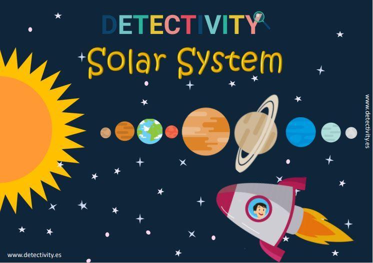 Juego de pistas Detectivity Solar System (ESP)
