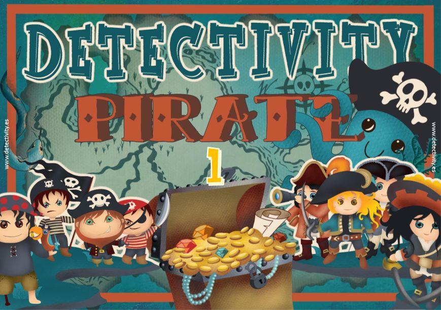 Juego de pistas Detectivity Piratas 1 (ESP)