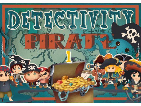 Juego de pistas Detectivity Piratas 1 (ESP) [0]