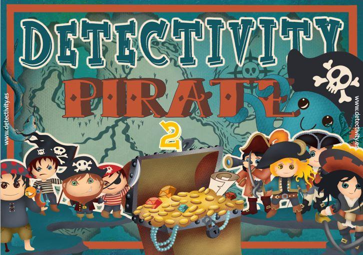 Juego de pistas Detectivity Piratas 2 (ESP)