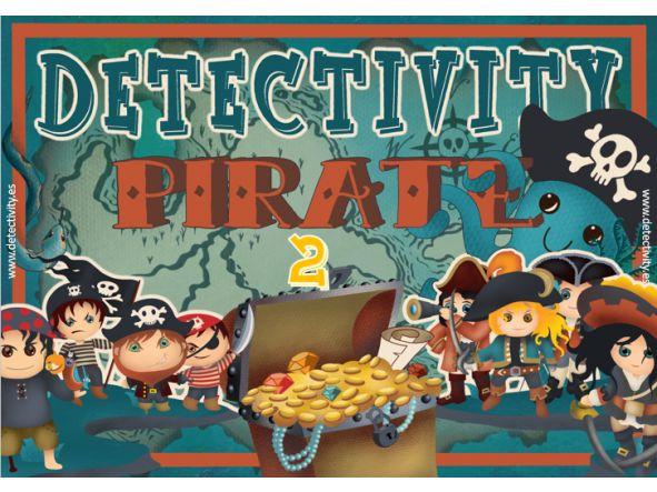Juego de pistas Detectivity Pirate 2  (ENG)