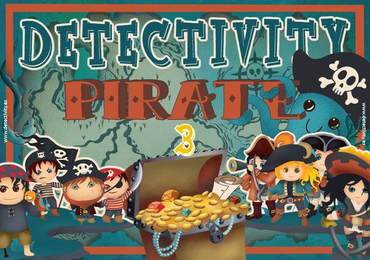 Juego de pistas Detectivity Piratas 3 (CAT)
