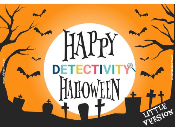 Joc de pistes Detectivity Happy Halloween little version (CAT)