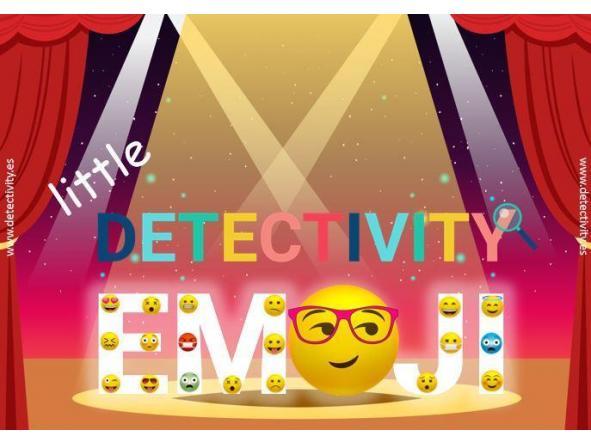 Juego de pistas Detectivity Emoji Little (ESP)