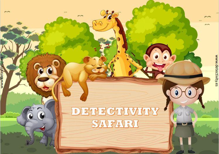 Juego de pistas Detectivity Safari (CAT)