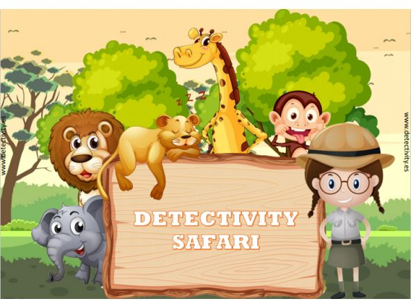 Juego de pistas Detectivity Safari (ESP)