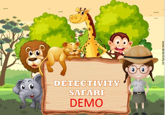 Juego de pistas Detectivity Safari DEMO  (ESP)