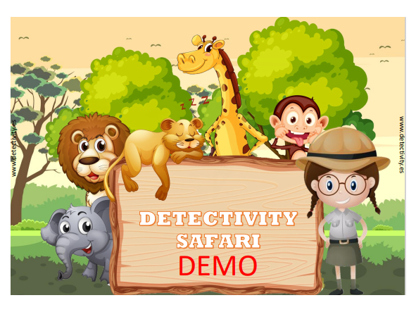 Juego de pistas Detectivity Safari DEMO  (ESP) [0]