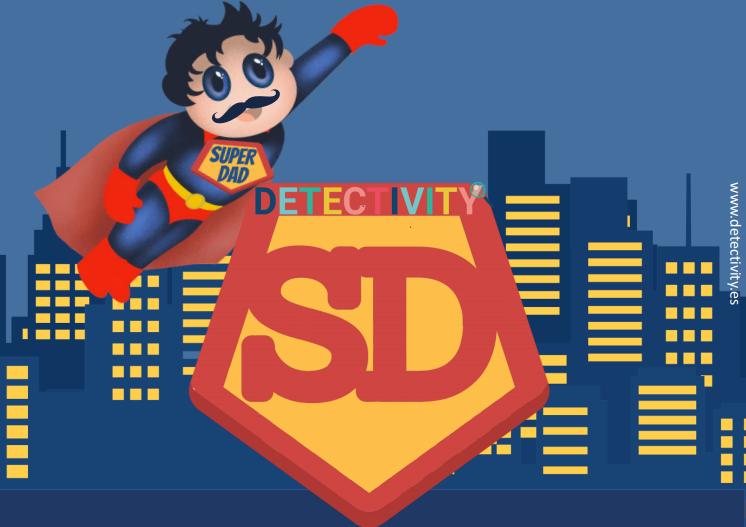 Joc de pistes Detectivity Superdad  (CAT)