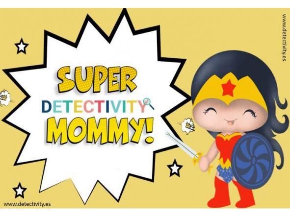 Joc de pistes Detectivity SuperMommy  (CAT)