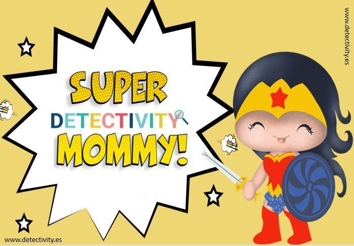 Juego de pistas Detectivity Supermommy  (ESP)