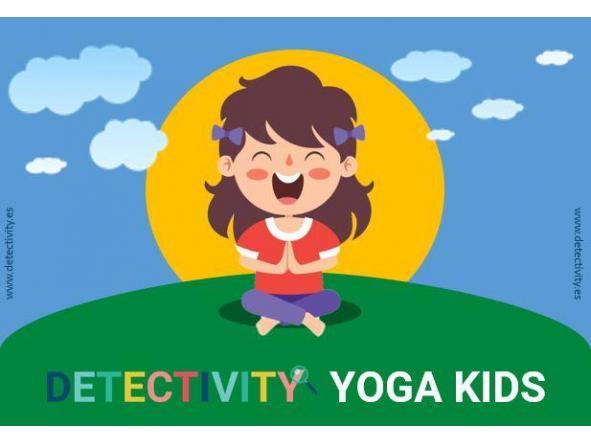 Juego de pistas Detectivity Yoga kids (ESP)