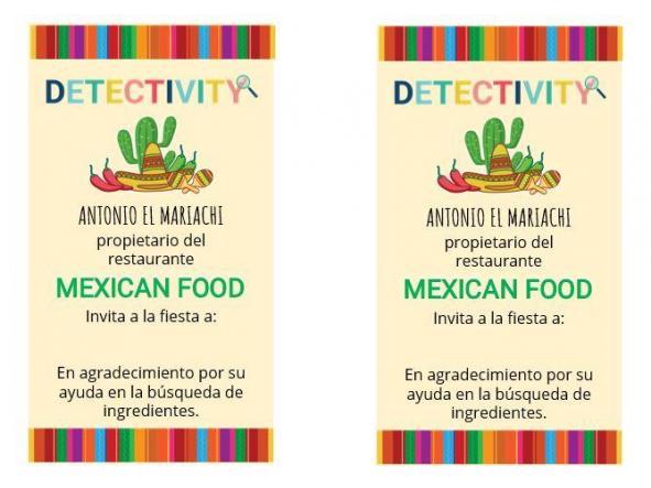 Juego de pistas Mexican Food (ESP) [1]