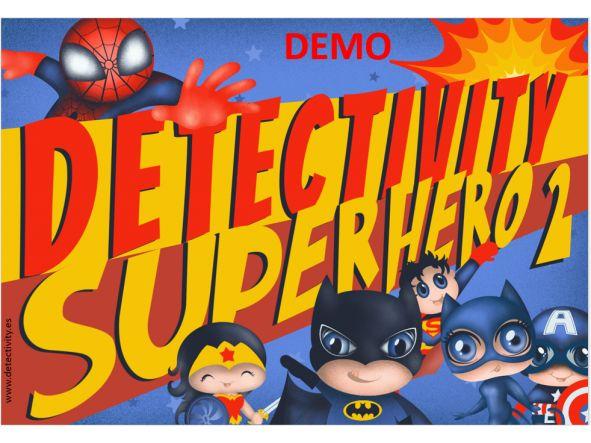 Juego de pistas Detectivity Superhero 2 DEMO  (ESP)