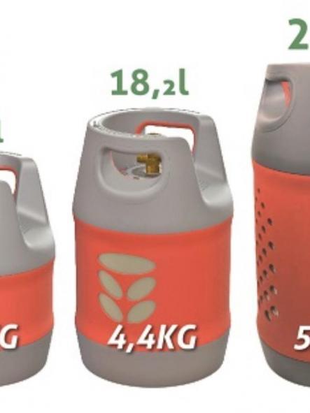 A2 Kit de 2 botellas en 12 , 18 y 24 litros [3]