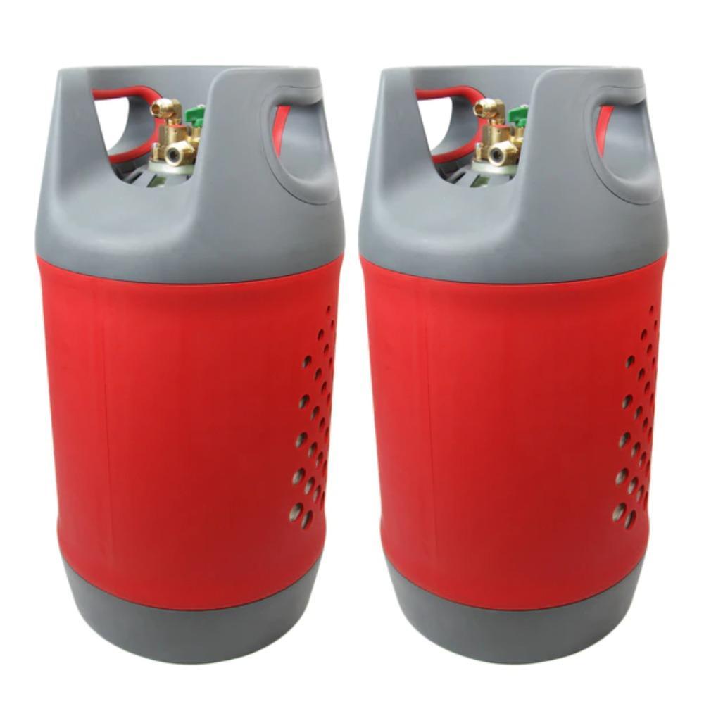 A5 Kit de Glp 24,4+24,4 l. Con indicador de nivel en ambas botellas