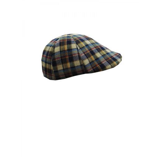 gorra lana cuadros [2]