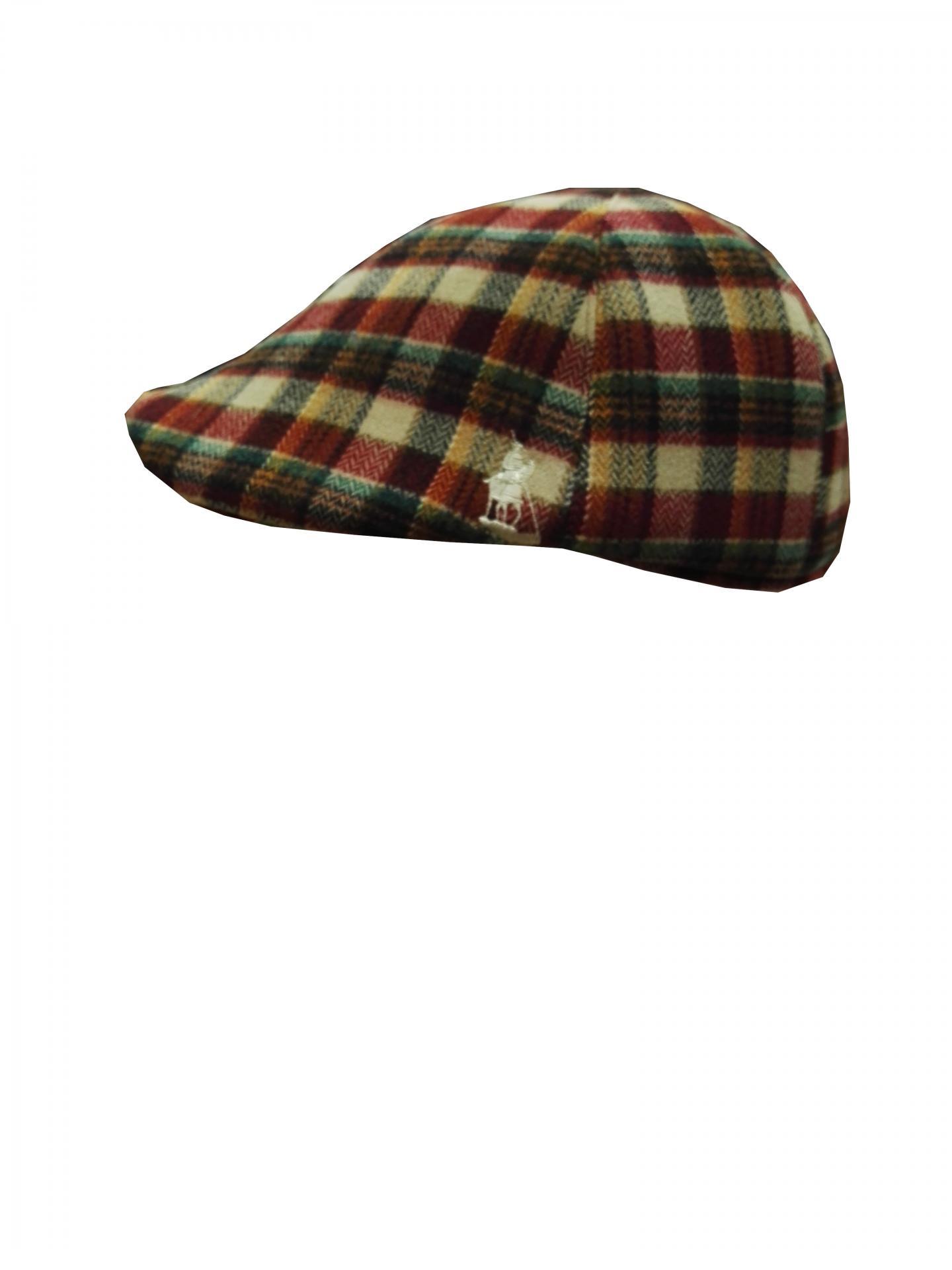 gorra lana roja