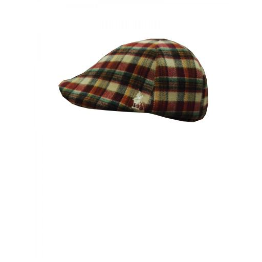 gorra lana roja [0]