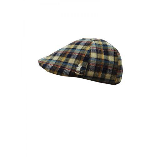 gorra lana cuadros [0]