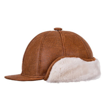 gorra cazador piel orejeras