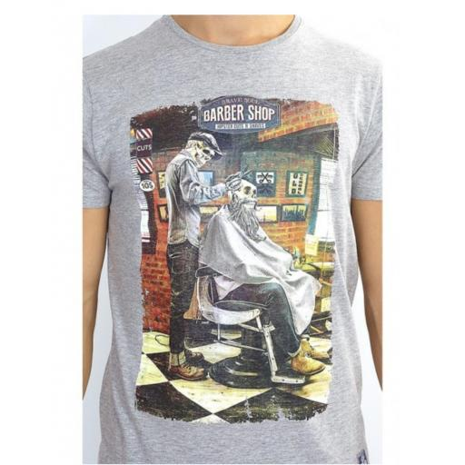 Camiseta barber old school [2]