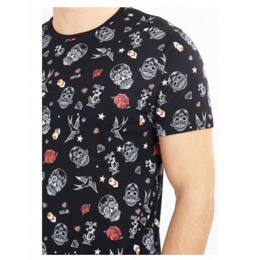 Camiseta King skull [2]