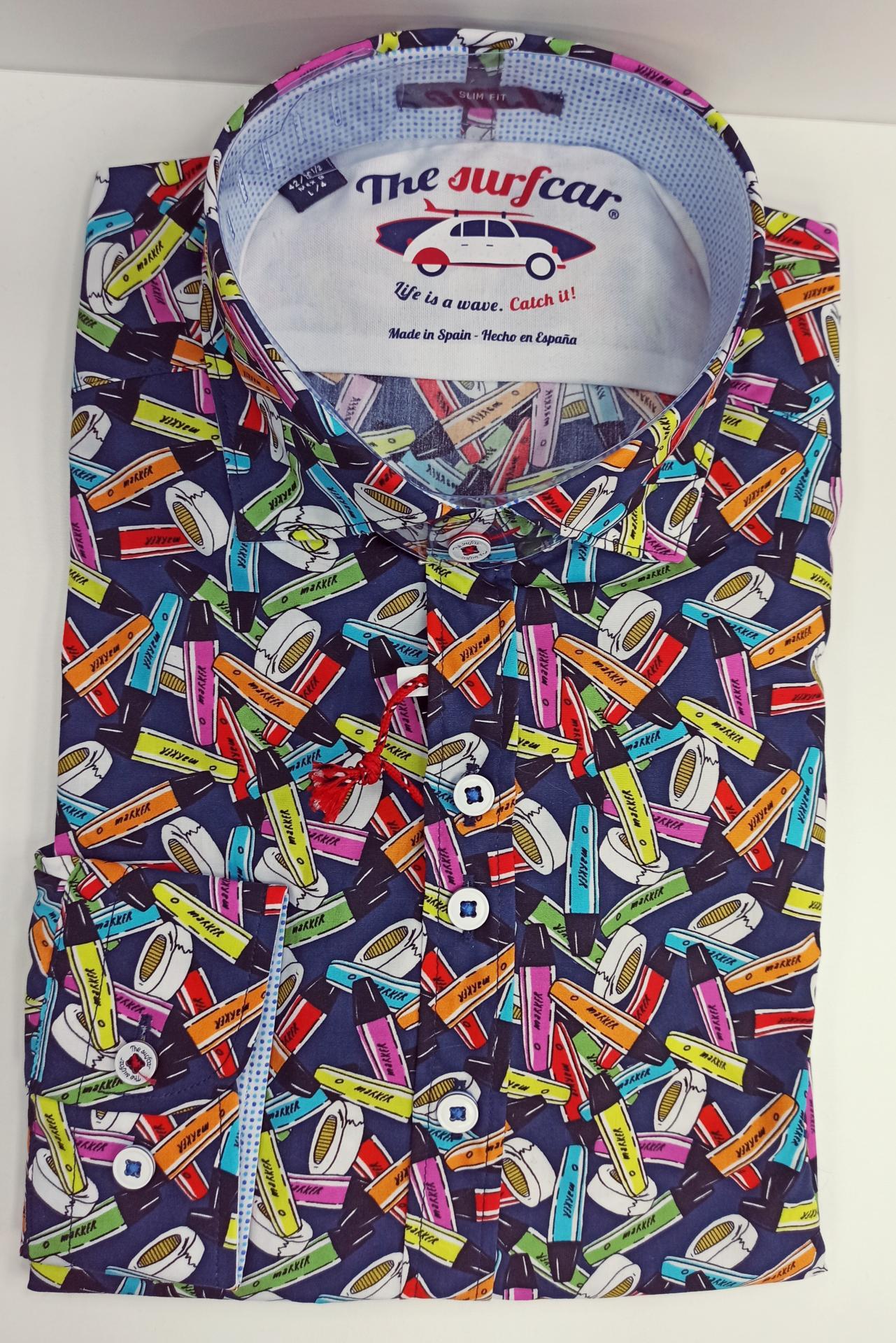 Camisa rotuladores