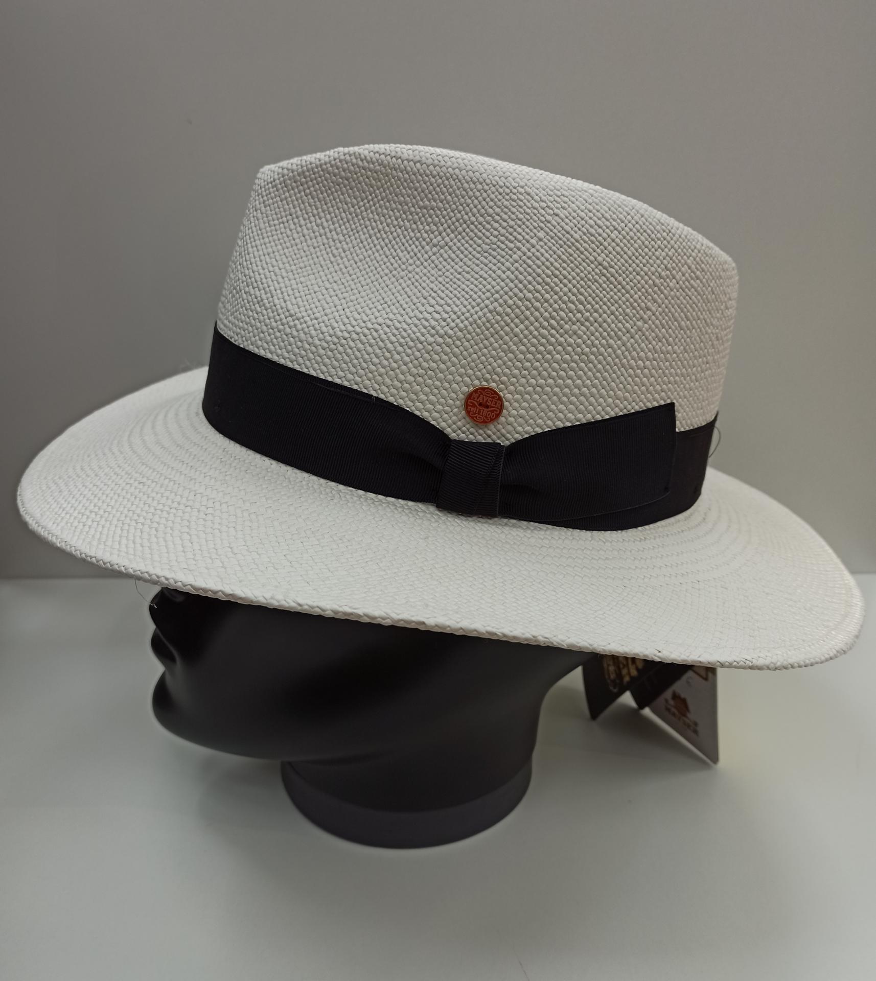 Sombrero panamá Mayser blanco