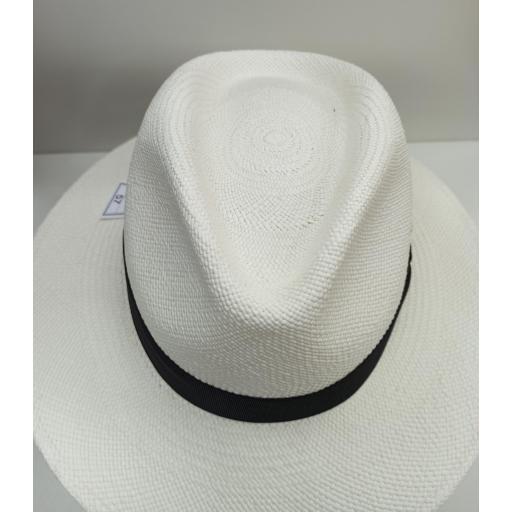 Sombrero panamá Mayser blanco [2]