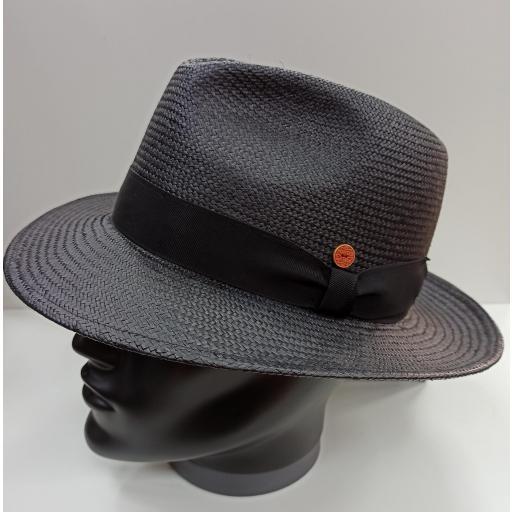 Sombrero panamá Mayser negro